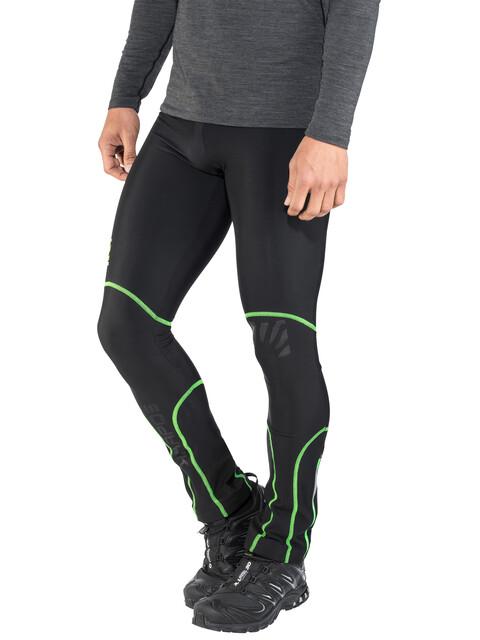 Karpos Alagna Pants Men black/green fluo